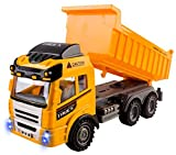 rc dump trucks with trailer - RC Dump Truck Toy Construction Truck Remote Control Truck 4CH Full Function Battery Powered RC Construction Truck Toy