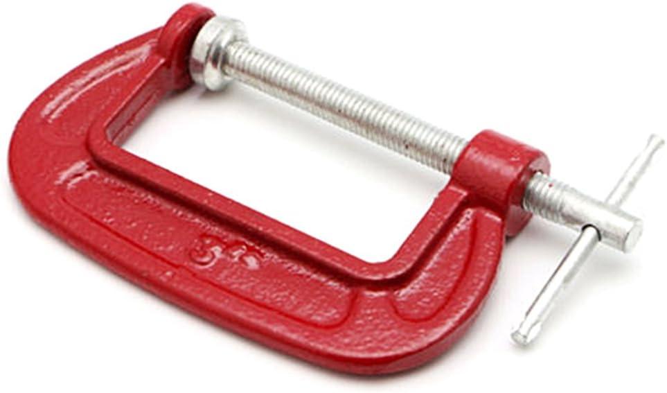 2,54 cm EMVANV g tipo di lavorazione del legno morsetto dispositivo di bloccaggio regolabile DIY carpenteria gadget Heavy Duty g clamp As Picture Show