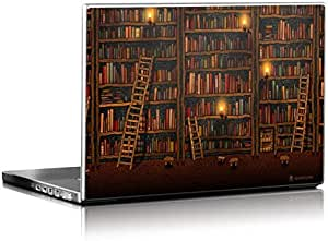 Library Design Installable Laptop Skin for 13.3 inch Laptops