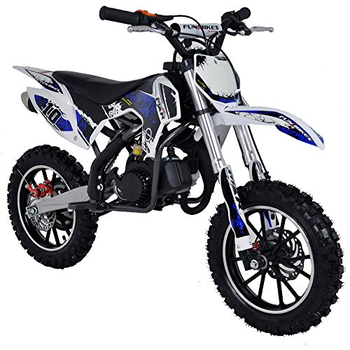 FunBikes MXR 50cc 61cm kids Mini Dirt Bike 7 different designs (Dark Blue)