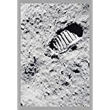 ArtParisienne The First Step on The Moon NASA 24x36-inch Wall Decal