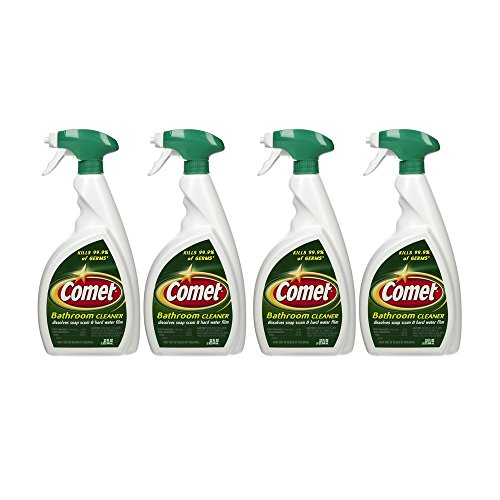 Comet Bathroom Cleaner Spray   32 Oz  4 Pack