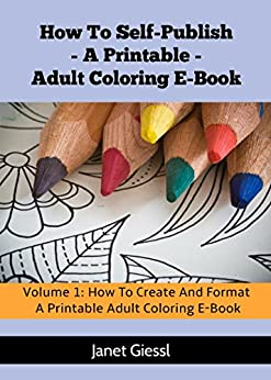 Create Format Printable Coloring Self Publish ebook product image