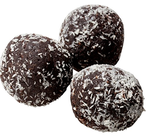(Low Carb Rum Balls - 12 Pack - Only 1 Net Carb Per Ball - Best Tasting Diet Product)