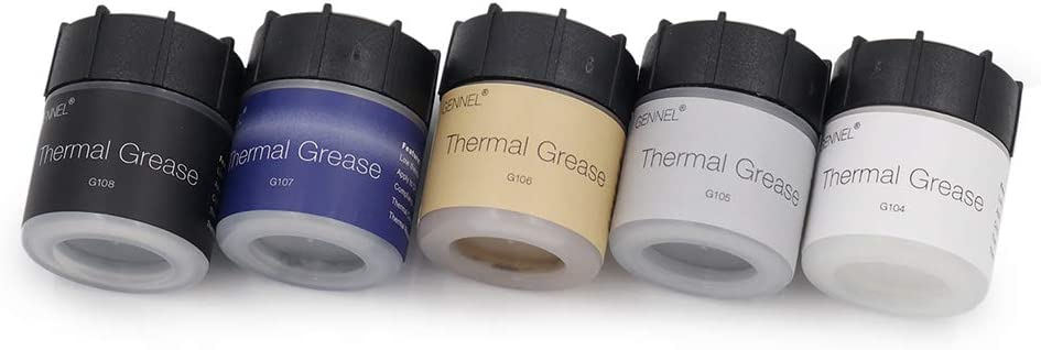 Thermal Conductive Grease for CPU GPU LED Ovens Chipset Heat Sink Paste GENNEL G108 100Grams High Performance Thermal Compound Paste