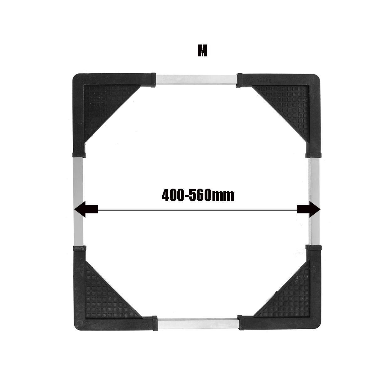 Appliances Base Washing Machine Refrigerator Heighten Frame Stainless Steel Moveable Base Bracket - M