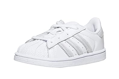 0e417bb00a81f Adidas Originals Superstar Baskets, Mixte Enfant, blanc, XX ...