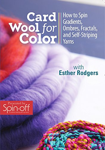 Card Wool for Color: How to Spin Gradients, Ombres, Fractals, and Self-Striping - Gradient Card