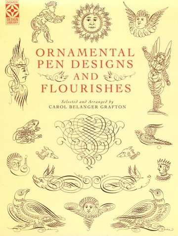 Ornamental Pen Designs and Flourishes (Dover Pictorial Archive Series)