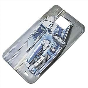 Coches 10079, Automóvil Moderno, Embossed Caso Carcasa Funda Duro Gel TPU Protección Case Cover, Diseño con Textura en Relieve para Samsung S2 i9100 i9200.