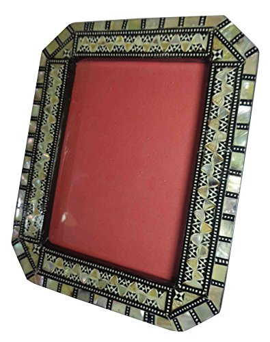 Egyptian Handmade Mosaic Inlaid Mother Of Pearl Wood Wooden 5
