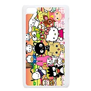 Custom Your Own Personalized Unique Sanrio people group photo Ipod Touch 4 Durable Case Cover