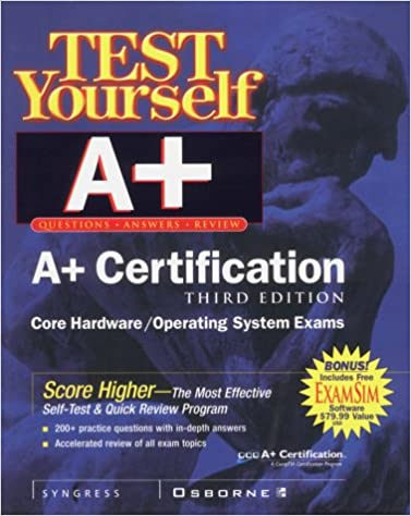 Test Yourself A Certification 3rd Edition