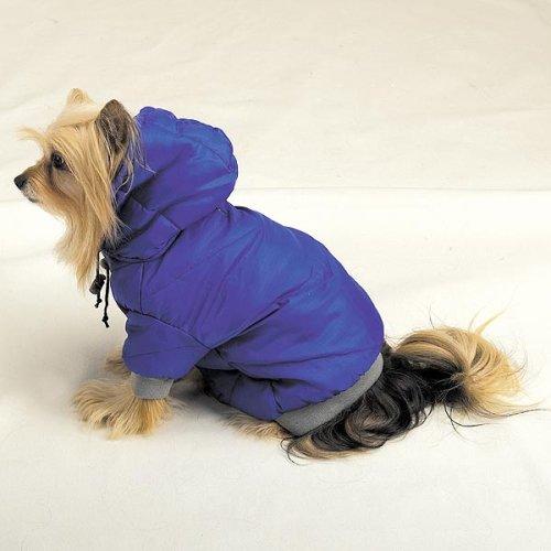 Black Fleece Lined Eskimo Jacket for dogs -Size: X-Small, #zw634-blkxs For Sale