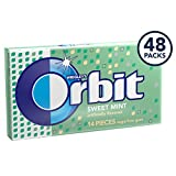 Orbit Sweet Mint Sugarfree Gum, 8 Count