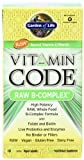 Cheap Garden of Life Vitamin Code Raw B Complex 60 tabs