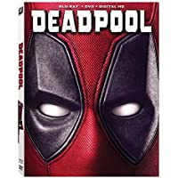 Deadpool Blu-ray DVD Digital HD Widescreen