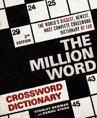 Million Word Crossword Dictionary (The Million Word Crossword Dictionary[MILLION WORD CROSSWORD DICT-2E][Paperback])