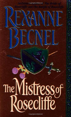 book cover of The Mistress of Rosecliffe