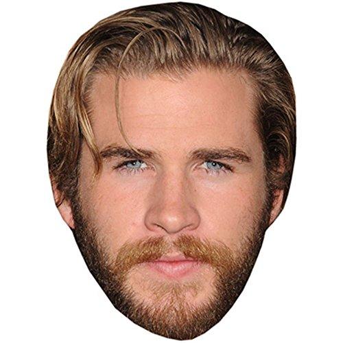Liam Hemsworth Celebrity Mask, Card Face and Fancy Dress (Hunger Games Costumes Designer)