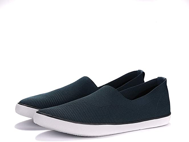 Hot Mens Loafers Comfort Casual Canvas Breathable Slip On Leisure Flat Shoes