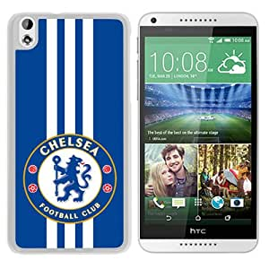 Fashionable Custom Designed Skin Case For HTC Desire 816 With Chelsea White Phone Case 13