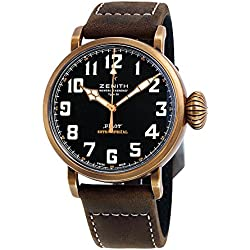 Zenith Pilot Montre D'aeronef Type 20 Black Dial Automatic Mens Watch 29.2430.679/21.C753