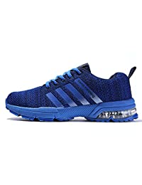 AHICO Mens Womens Running Shoe Sneakers Air Cushion Sports Lightweight Breathable Athletic Walking Running Shoes for Men Women