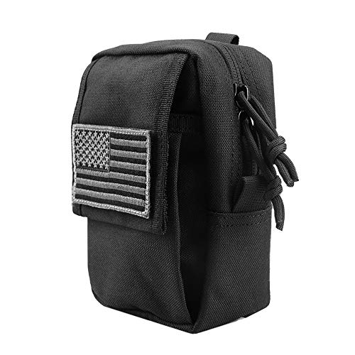 Pouch Waist Pack Utility (AMYIPO MOLLE Pouch Multi-Purpose Waist Pack EDC Mini Utility Admin Pouch Belt Bag Phone Case)