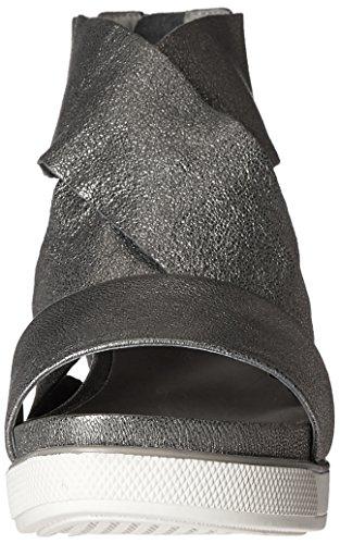 Eileen Fisher Women's Sport-Mc Flat Sandal Pewter wrKBK