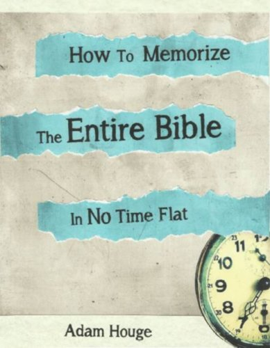 How To Memorize The Entire Bible In No Time Flat (Best Way To Memorize Bible Verses)