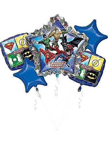 ANAGRAM INTERNATIONAL 3238601 Foil Balloon Bouquet Various Multi (League Bouquet Balloon Justice)