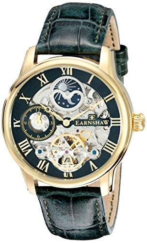 Thomas Earnshaw Men's ES-8006-09 Longitude Analog Display Automatic Self Wind Brown Watch