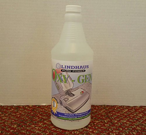 Lindhaus Oxy-Gen Low Moisture Carpet Cleaning Solution-- Exclusive Listing by Johnston's Vac & Sew
