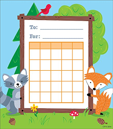 Creative Teaching Press Woodland Friends Student Incentive Chart - Incentive Chart Homework