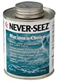 Never-Seez NMCBT-16 Black Gray Mariners Choice Anti-Seize, 16 fl. oz. Brush Top Can