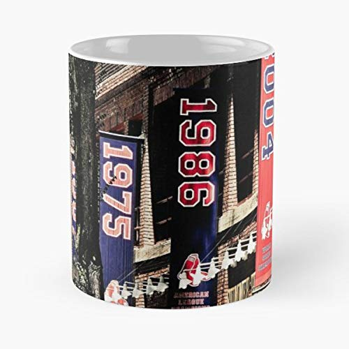- Champions Championship Banners Fenway Park - Funny Sophisticated Design Great Gifts -11 Oz Coffee Mug.the Best Gift For Holidays.
