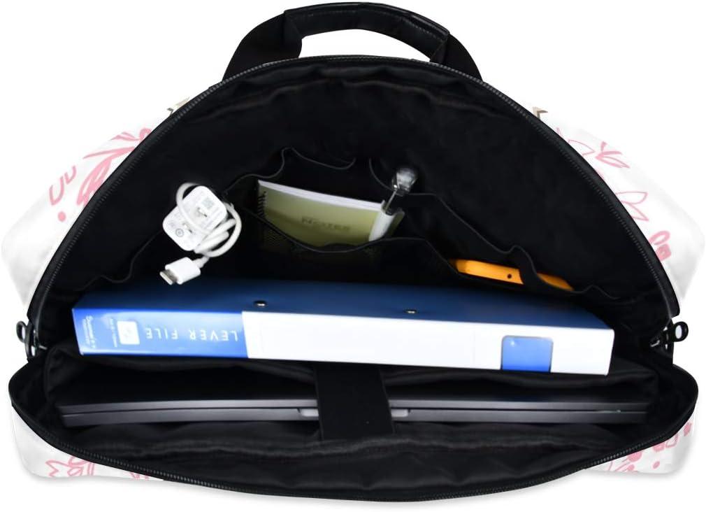 ZZCDD Rabbit Cute Bunny Laptop Messenger Bag Durable Laptop Sleeve Bag Multifunctional Briefcase Carrying Case 15.7 inch Notebook Computer Tablet Laptop Shoulder Bag