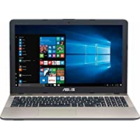 2018 Newest ASUS Vivobook 15.6 Inch Laptop Computer Intel Quad Core Pentium N4200 up to 2.5Ghz, 4GB RAM, 256GB SSD, Intel HD Graphics 500, DVD/CD+RW, USB Type-C, Webcam, Windows 10