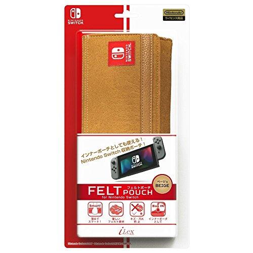 i-Lex Nintendo Switch Officially Licensed by Nintendo FELT Pouch (Licensed Felt)