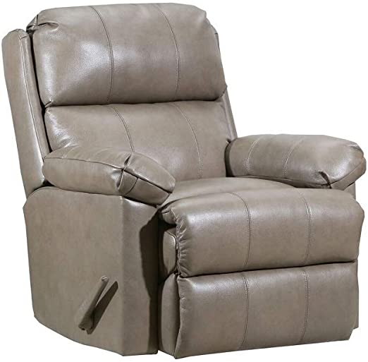Lane Timeless Zero Gravity LeatherVinyl Rocker Recliner in Soft Touch Taupe. 4205 ZG
