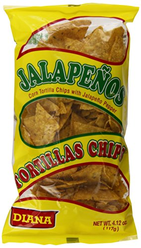 Diana Tortilla Chips Jalapeno Ounce product image