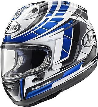 Arai corsair-x planeta azul casco de la motocicleta (más opciones de tamaño)