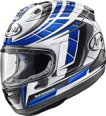 (Arai Corsair-X Planet Blue Motorcycle Helmet Medium (More Size Options))