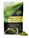 Matcha Green Tea Powder Organic - Japanese Premium Culinary Grade, Unsweetened & Sugar Free - USDA & Vegan Certified - 100g (3.52 oz) - Perfect for Baking, Smoothies, Latte, Iced tea & Weight Loss