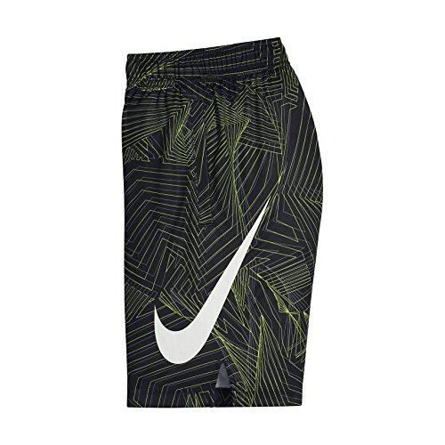 d7ebcc990f NIKE Big Kids' (Boys') Dri-FIT Training Shorts (Black(892490-010)/Cool  Grey, Small)