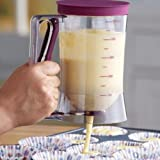 Cupcake Batter Dispenser Pancake Cookie Cake Muffins Batter Dispenser