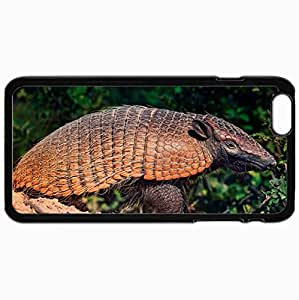 Customized Cellphone Case Back Cover For iPhone 6 Plus, Protective Hardshell Case Personalized Battleship South America Bushes Sand Black
