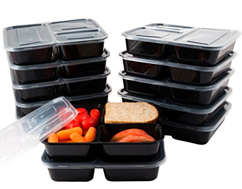 HomEquip Compartment Reusable Disposable Containers Meal product image