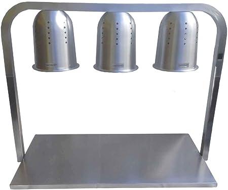 Mesa de Calentado de Comida y Platos - 3 Lámparas - Producto de ...